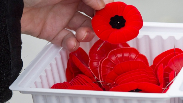 Toronto Police looking for alleged poppy box thief