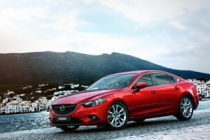 2014 Mazda 6 GT Interior. MAZDAUSAMEDIA.COM.