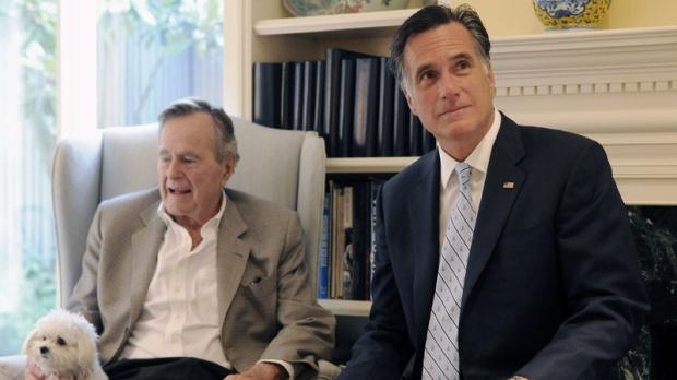 Ex-president George H.W. Bush in hospital