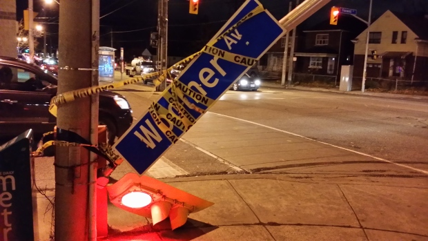 Strong winds knock out power, scatter debris across GTA ...
