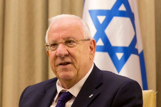 Israel's President Reuven Rivlin