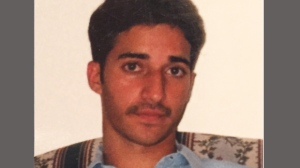 An undated photo provided by Yusuf Syed shows his brother, Adnan Syed. (AP / Courtesy of Yusuf Syed)