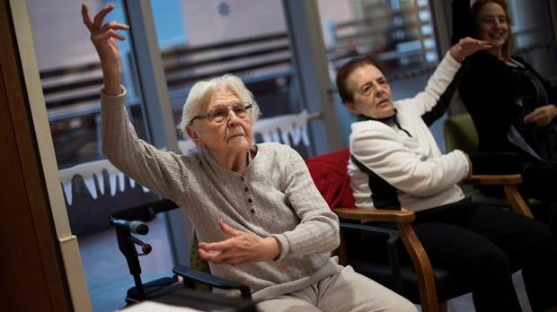Baycrest, dance, dementia, movement