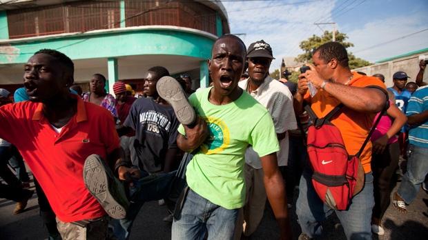 Haiti anti-government protests