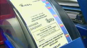 Lotto Max, lottery ticket