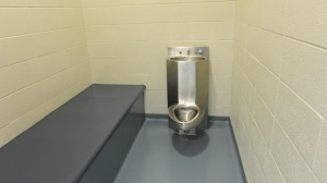 A picture of a jail cell tweeted by York Regional Police who are warning the public that this is where people will end up if they are caught driving impaired.