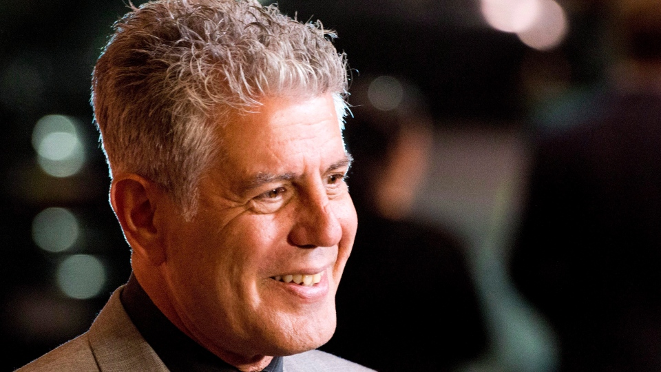 Anthony Bourdain is shown in a file photo. (The Canadian Press/Charles Sykes/Invision/AP Images)