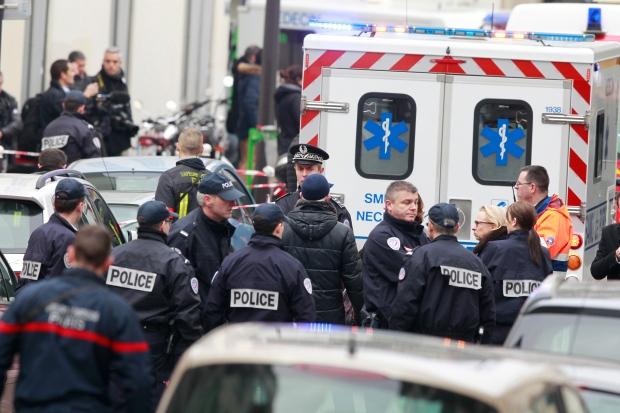 Paris, shooting, newspaper