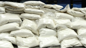 Ketamine is shown in this file photo. Police raided three synthetic drug labs across the Greater Toronto Area last week, seizing 37 kilograms of ketamine and smaller quantities of heroin, cocaine and MDMA. (THE CANADIAN PRESS/Darryl Dyck)