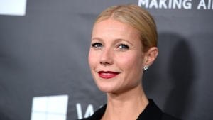 Gwyneth Paltrow arrives at the 2014 amfAR Inspiration Gala at Milk Studios in Los Angeles on Wednesday, Oct. 29, 2014. (Jordan Strauss/Invision/AP)