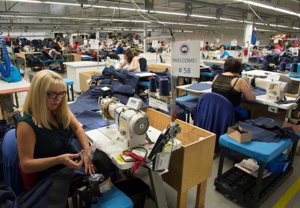 Canada Goose' jacket factory toronto