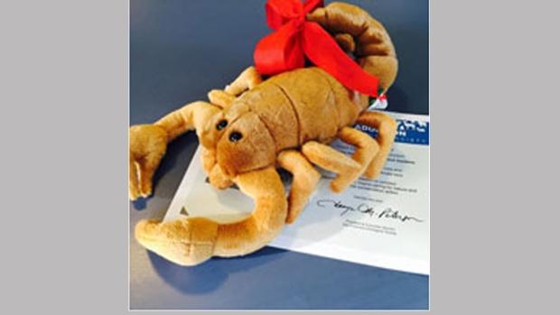 Stuffed Scorpion