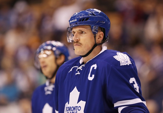 4bc60068ff7 Maple Leafs  Phaneuf expected to return vs. Flyers. Dion Phaneuf