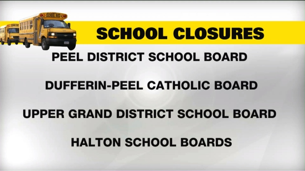 School buses cancelled in Toronto due to weather   CP24 com