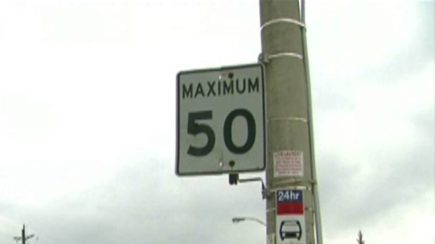 Speed limits Toronto