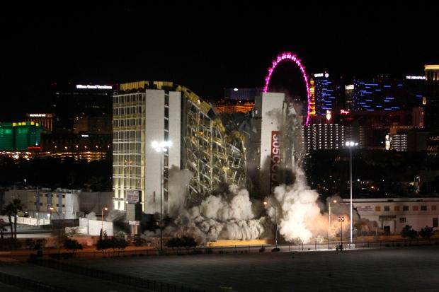 casino in las vegas demolished
