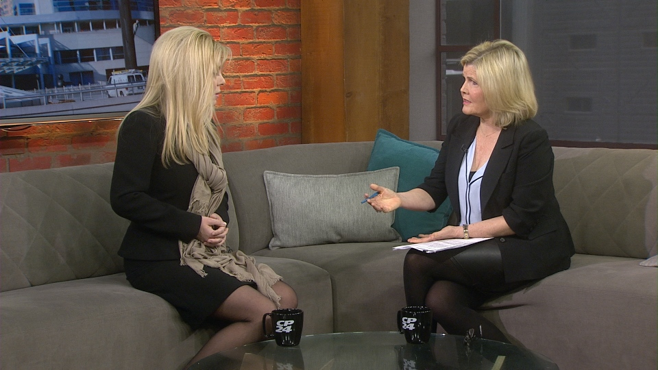 MP Eve Adams sits down with CP24 for her first one-on-one interview on Feb. 11, 2015 after announcing she is crossing the floor and joining the Liberal Party.