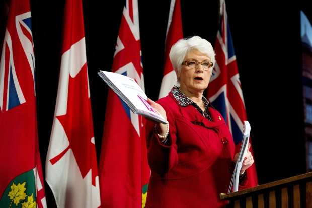 Ontario Education Minister Liz Sandals sex ed