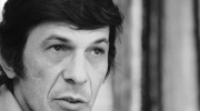 "In this June 28, 1973 file photo, actor Leonard Nimoy speaks during an interview in New York. Nimoy, famous for playing officer Mr. Spock in ""Star Trek"" died Friday, Feb. 27, 2015 in Los Angeles of end-stage chronic obstructive pulmonary disease. He was 83. (AP Photo/Jerry Mosey)"