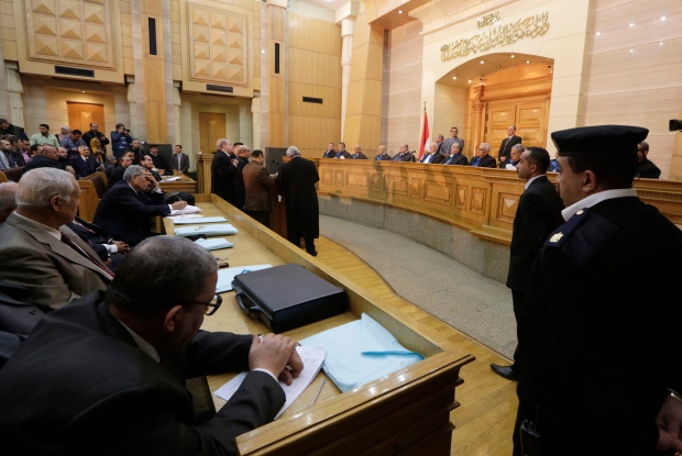 Egypt court suspends parliamentary elections after laws ...
