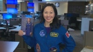 Dr. Julielynn Wong Chris Hadfield suit