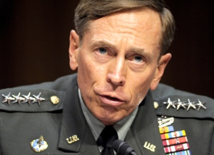 FILE - In this June 23, 2011, file photo, CIA Director nominee Gen. David Petraeus testifies on Capitol Hill in Washington, before the Senate Intelligence Committee during a hearing on his nomination. The Justice Department said Tuesday, March 3, 2015, that the former top Army general has agreed to plead guilty to mishandling classified materials. A statement from the agency says a plea agreement has been filed in U.S. District Court in Charlotte, N.C., the hometown of Paula Broadwell, the general's biographer and former mistress. (AP Photo/Cliff Owen, File)
