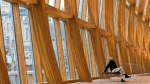 The Art Gallery of Ontario in Toronto, designed by Canadian architect Frank Gehry. (Nathan Denette  / THE CANADIAN PRESS)
