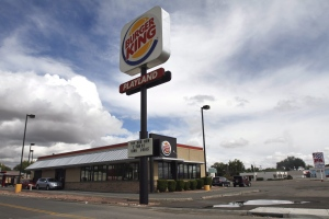 A Burger King in Bloomfield, N.M. is pictured on Thursday, Oct. 9, 2014. (The Daily Times / Jon Austria)