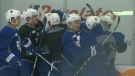 Maple Leafs practice