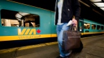 For Canada's 150th Birthday, Via Rail is offering $150 youth passes for July. (Peter McCabe/The Canadian Press)