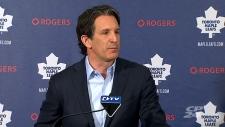 Maple Leafs president Brendan Shanahan