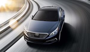 2015 Hyundai Sonata exterior detail. HYUNDAINEWS.COM.
