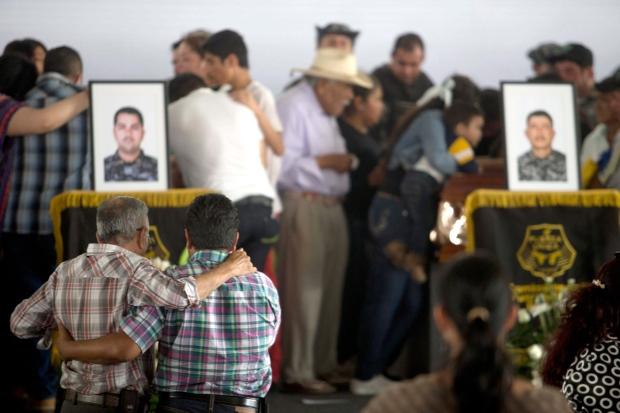 Mexico police killed