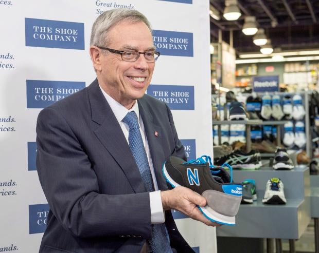 Federal Finance Minister Joe Oliver