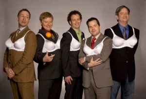 The Kids in the Hall comedy troupe (From left) Scott Thompson, Dave Foley, Kevin McDonald, Bruce McCulloch and Mark McKinney are shown in this undated handout photo. THE CANADIAN PRESS/ HO