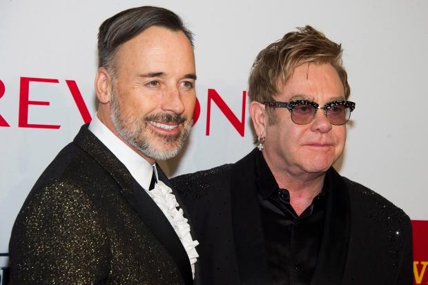 12e1179d066f Elton John, right, and David Furnish attend the Elton John AIDS  Foundation's 13th Annual