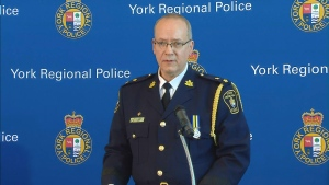 York Regional Police say 41 people have been arrested worldwide in connection with a large-scale child porn investigation.