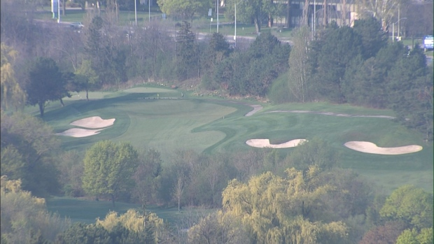 Beautiful weather golf Toronto