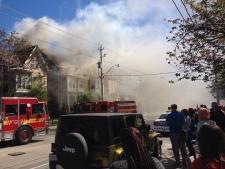 fire, Carlton Street