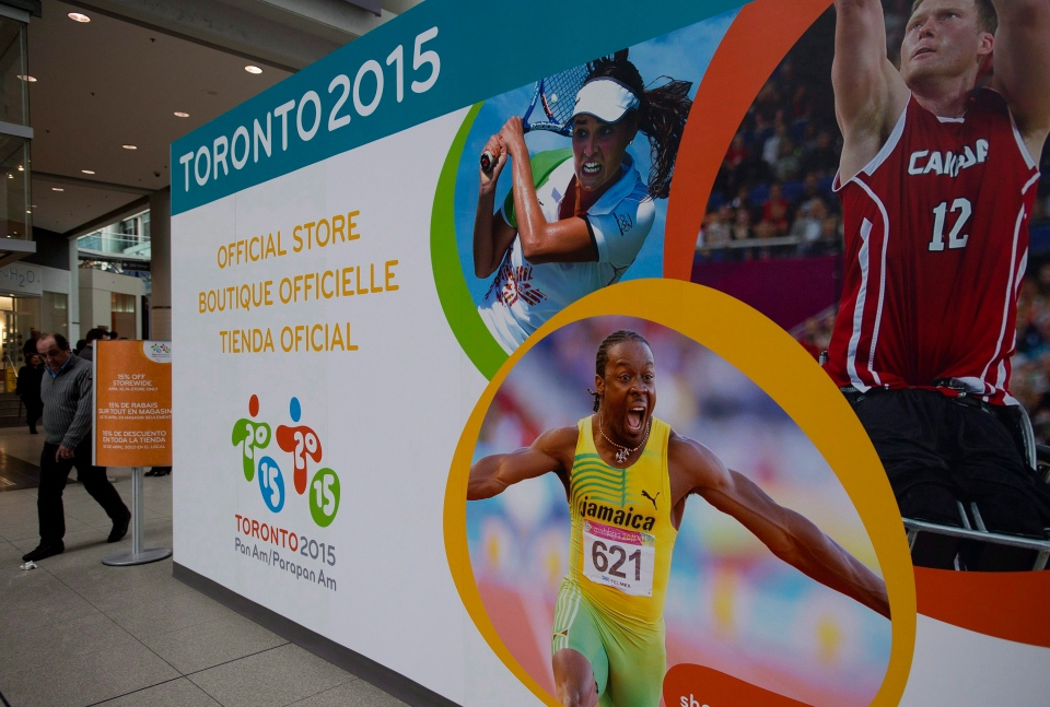 Official toronto 2015 pan am parapan am games retain store in toronto