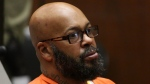 "This April 8, 2015 file photo shows former rap mogul Marion ""Suge'' Knight as he appears in a Los Angeles court.  (AP Photo/Los Angeles Times, Irfan Khan)"