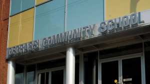 "The set of ""Degrassi"" is seen here in this Thursday, June 26, 2012 photo. THE CANADIAN PRESS/Aaron Vincent Elkaim"