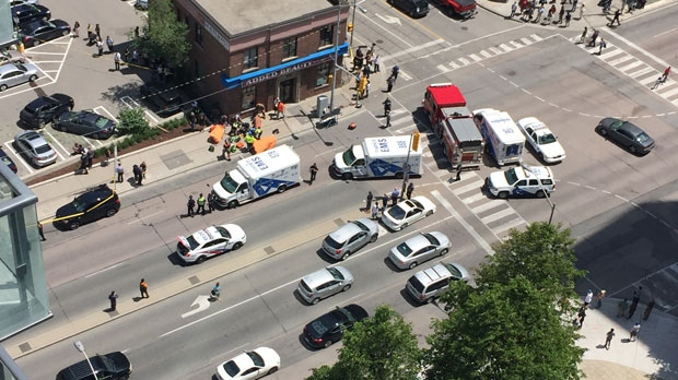 Man 65 Dead After Vehicle Slams Into Pedestrians In North York