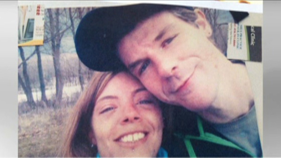 Clyde Marshall, 36, of New Brunswick and Sabrina Chouart, 27, of Gatineau, Que. are pictured.