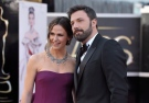 Actors Jennifer Garner, left, and Ben Affleck arrive at the Oscars at the Dolby Theatre on Sunday Feb. 24, 2013, in Los Angeles. (John Shearer/Invision/AP)