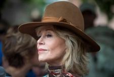Actress and activist Jane Fonda