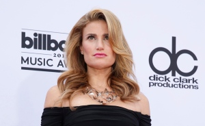 Idina Menzel arrives at the Billboard Music Awards at the MGM Grand Garden Arena on Sunday, May 17, 2015, in Las Vegas. (Photo by Eric Jamison/Invision/AP)