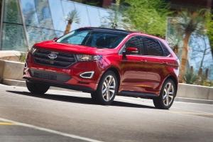 2015 Ford Edge exterior. MEDIA.FORD.COM.