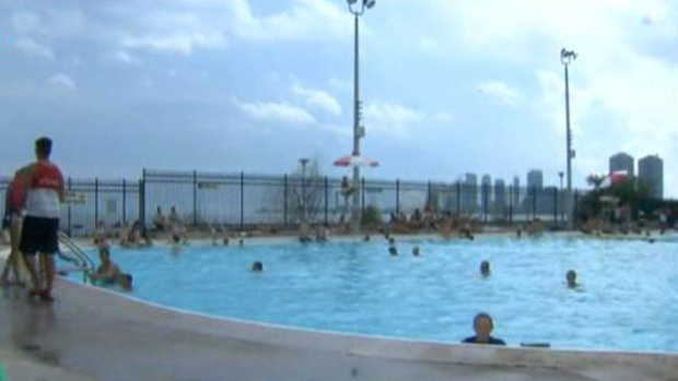 Some Outdoor Swimming Pools Open For The Summer Today