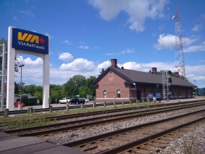 Via Rail inaugurated its newly transformed Brockville station Thursday, July 23, 2015 following $1 million of renovations. (The Canadian Press/HO-Via Rail)